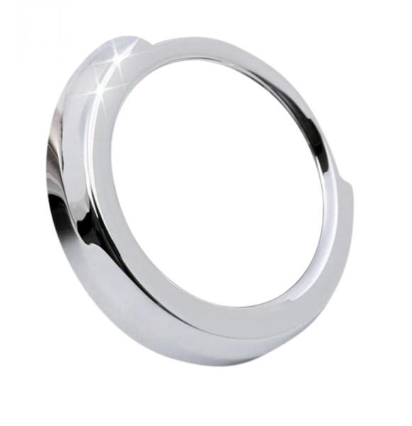 Mittelkonsole Start Stop Rahmen Passend Für BMW 1er - 7er Silber