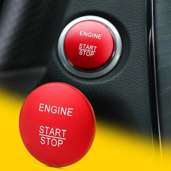 Start Stop Blende Abdeckung Rot Passend Für Mercedes Benz A B C Klasse GLA GLC GLE GL