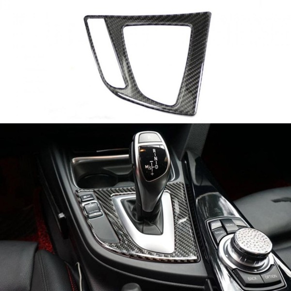 Abdeckung Rahmen Blende Carbon Flex Automatikgetriebe Passend Für BMW 3 F30 F31 3GT F34 4 F32 F33 F36