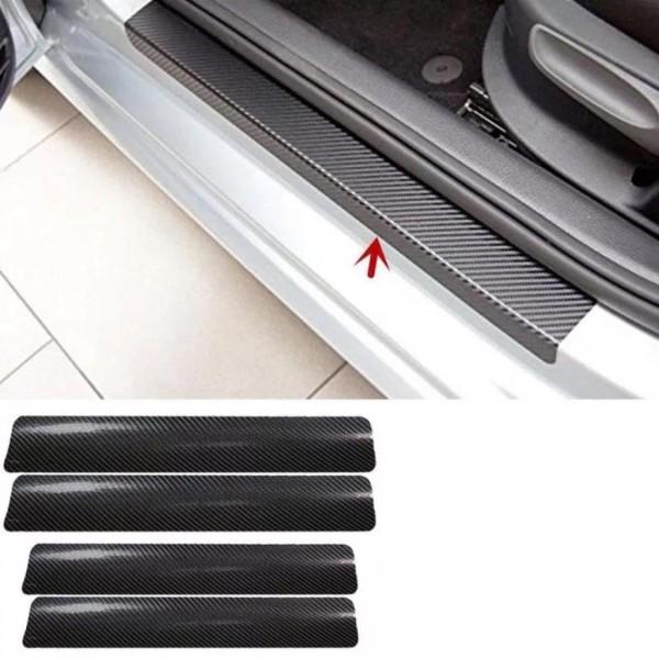 Carbon 3D Folie Einstigleisten Passend Für VW Golf 5 6 7 GTI GTD R TDI TSI