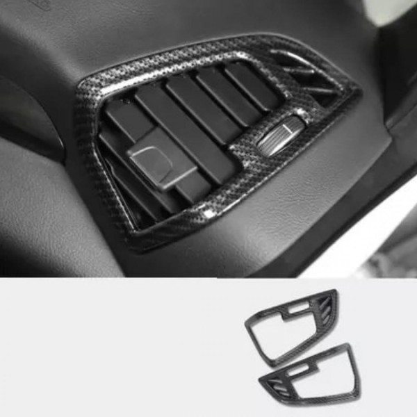 Luftdüsen Lüftungsrahmen Armaturenbrett Blende Carbon Optik Passend Für Ford Kuga