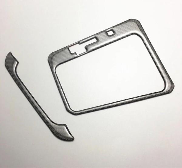 Schalttafel Blende Mittelkonsole in Carbon Flex Passend Für Start Stop Schalttafel Blende Rahmen in Carbon Flex Passend Für VW Passat B8