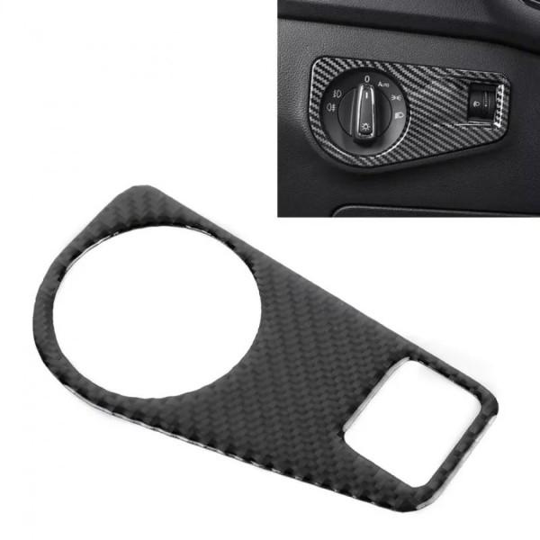 Lichtschalter Blende Abdeckung Rahmen in Carbon Optik Passend Für VW Tiguan 2 AD1