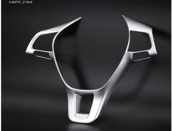 Lenkrad Rahmen Abdeckung Blende Passend Für VW Tiguan 2 AD1 Golf 7 GTI GTD Club Sport TDI TSI
