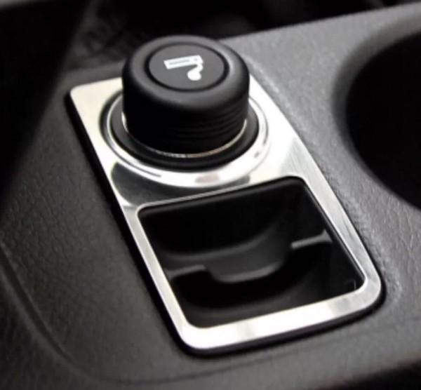 Zigarettenanzünder Blende Abdeckung Rahmen Edelstahl Passend Für Ford Focus 3