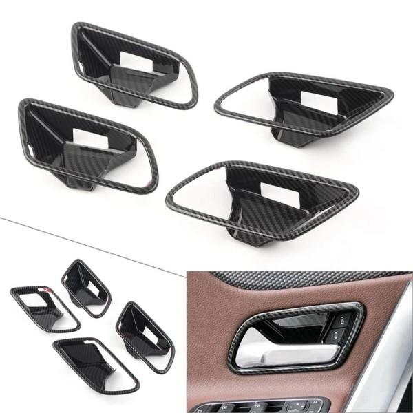 Carbon Optik Türgriff Schalen Blende Abdeckung Passend Für Mercedes Benz A Klasse W177