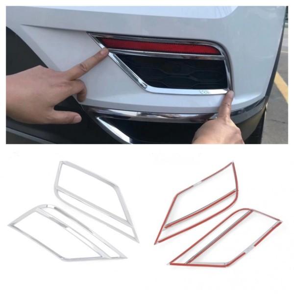 Hintere Nebelscheinwerfer Blende Rahmen Passend Für VW T-Roc TDI TSI Rline