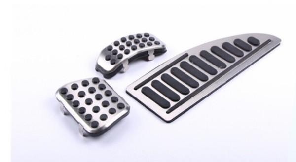 Pedale Pedalkappen mit Fußstütze Passend Für Ford Fiesta Ecosport Automatikgetriebe