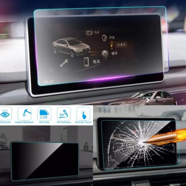 Radio Navi Display Schutz Glass 10,3 inch Großes Navi Passend Für Audi A4 B9 A5 F53 Q5 FY