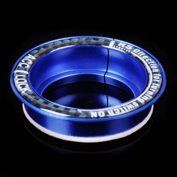 Schlüssel Zündschlüssel Rahmen Abdeckung Passend Für Ford Focus MK2 MK3 Blau