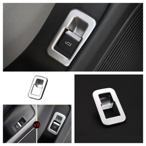 Kofferraum Heckklappe Druckknopf Blende Rahmen Abdeckung Passend Für Audi A4 S4 RS4 B9
