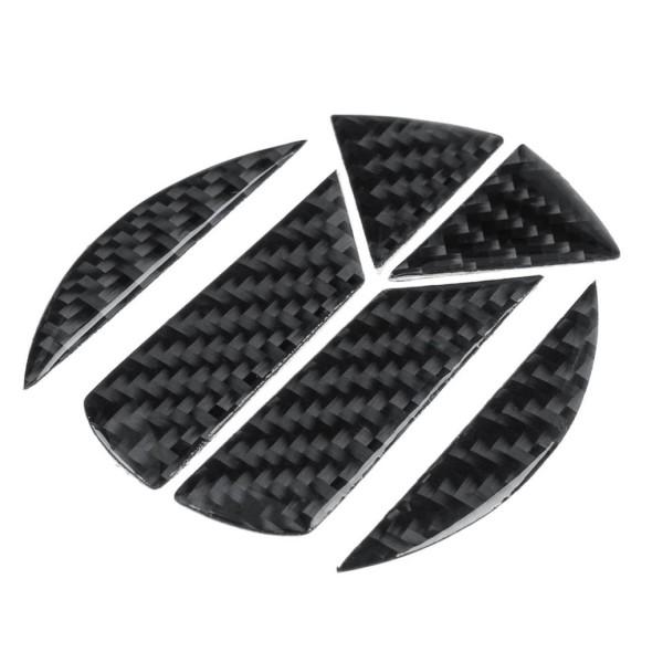 3D Carbon Hintere Logo Passend Für VW Golf 5 6 7 Polo Passat CC GTI GTD R TDI TSI