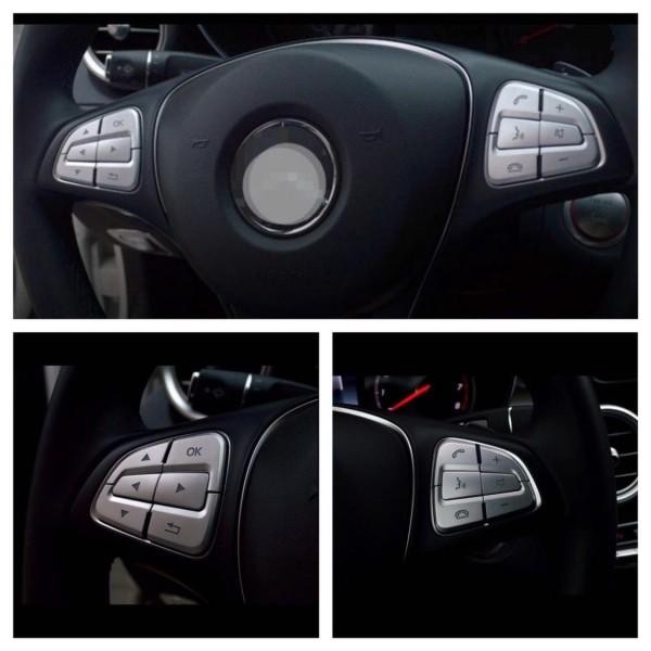 Multifunktionstasten Blende Passend Für Mercedes Benz A GLA CLA E CLS GLE GL GLC