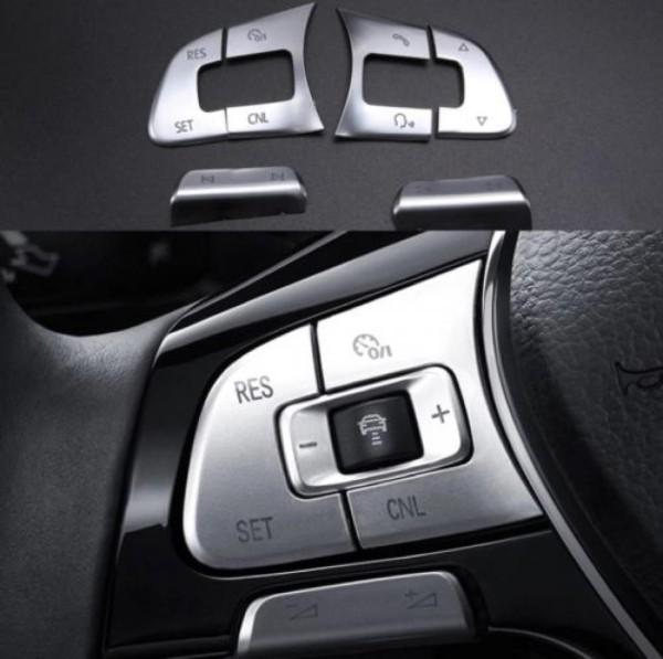 Multifunktionstaste Abdeckung Blende Passend Für VW Golf 7 Passat B7 B8 Tiguan 2 AD1
