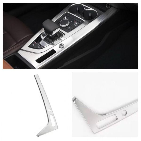 Edelstahl Mittelkonsole Blende Rahmen Passend Für Audi A4 B9
