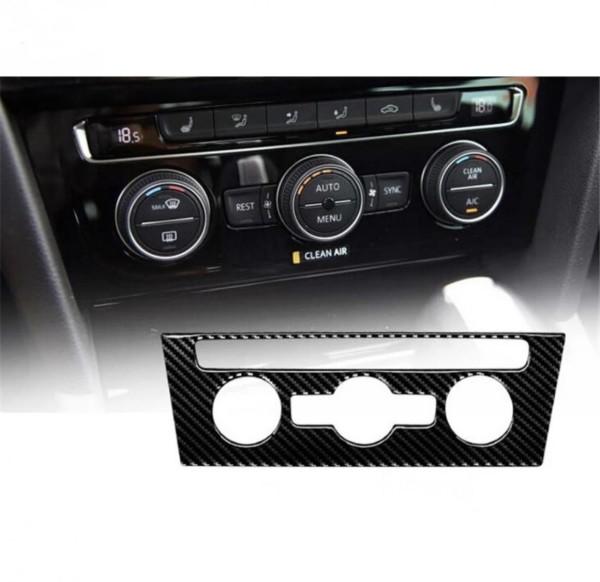 Klima Heizung Blende Rahmen in Carbon Flex Passend Für VW Passat B8 TDI TSI Rline
