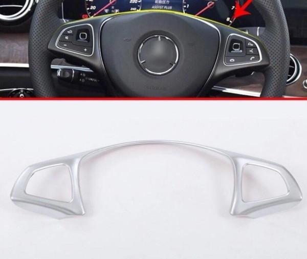 Lenkrad Rahmen Chrom Matt Passend Für Mercedes Benz C E GLC GLE AMG