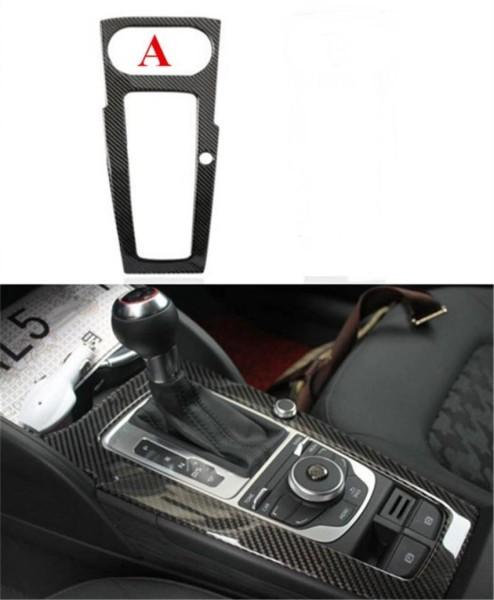 Mittelkonsole Schalttafel Flex Carbon Blende Passend Für Audi A3 S3 RS3 ohne Start Stop