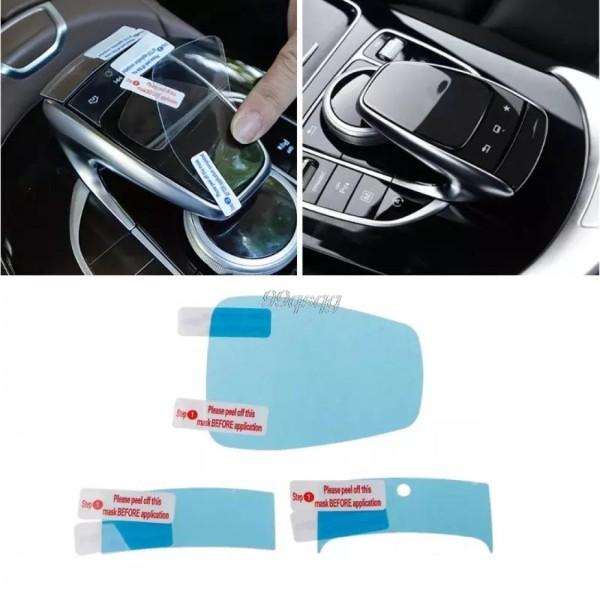 Touch Pad Bedienung Schutz Folie Passend Für Mercedes C E S V GLC GLE Klasse AMG