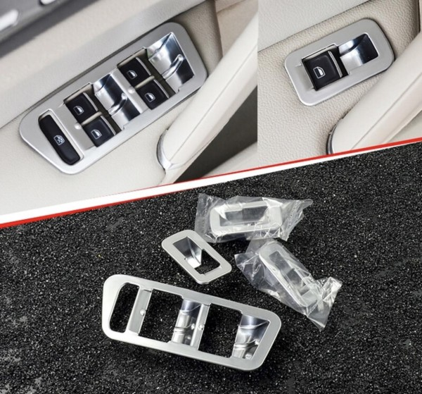Fensterheber Abdeckung Rahmen Passend Für VW Golf 7 MK7 GTI GTD GTE R Club Sport