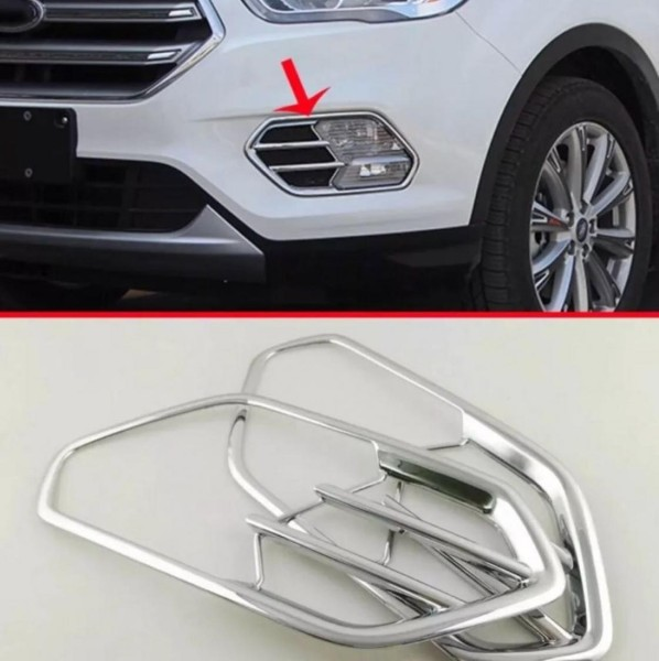 Nebelscheinwerfer Blende Passend Für Ford Kuga Chrom Optik