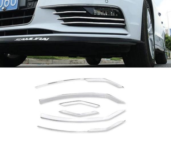 Nebelscheinwerfer Zierleisten in Edelstahl Passend Für Audi A3 8 V