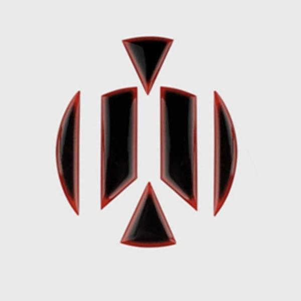 Emblem Flex Coating Vorne & Hinten Passend Für VW Golf 7 Schwarz