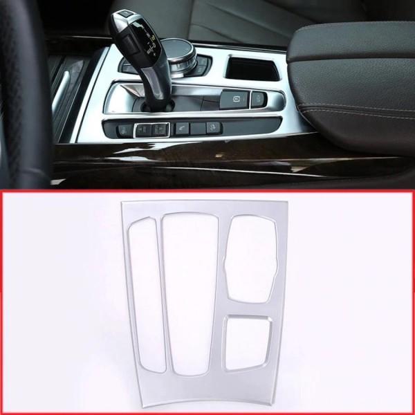 Abdeckung Rahmen Blende ABS Chrom Matt Automatikgetriebe Mittelkonsole Passend Für BMW X5 X6 F15 F16