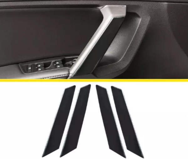 Handgriff Blende Edelstahl Passend Für VW Tiguan 2 AD1 TDI TSI  Schwarz