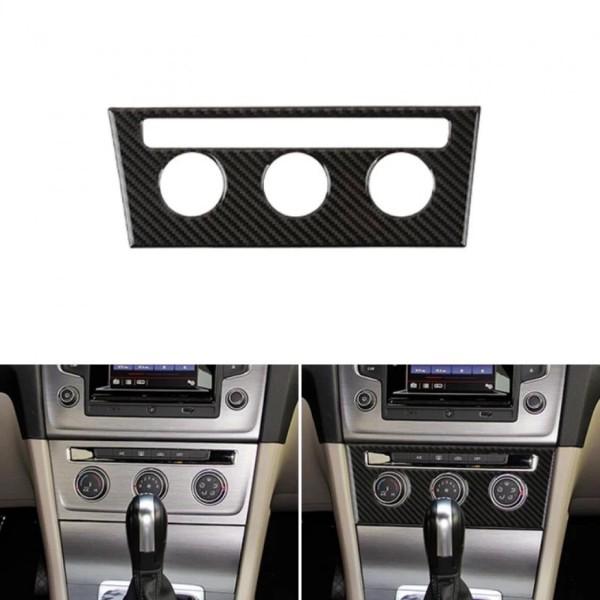 Mittelkonsole Carbon Flex Blende Rahmen Abdeckung Passend Für VW Golf 7