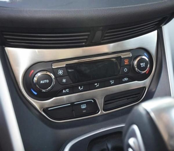 Klimaanlage Abdeckung Blende Rahmen Edelstahl Passend Für Ford Kuga CDTI ST