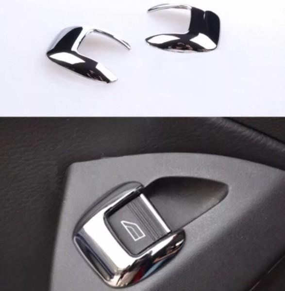 Fensterheber Schalter Blende Rahmen ABS Chrom Passend Für Ford Focus 3 Kuga