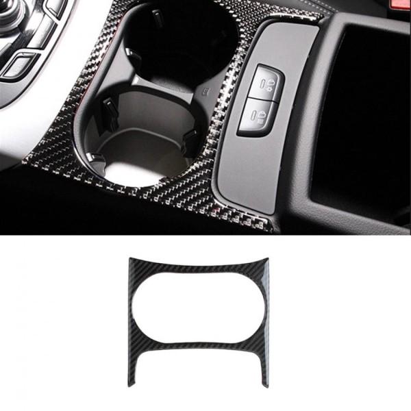 Flex Carbon Mittelkonsole Becherhalter Blende Rahmen Abdeckung Passend Für Audi Q5 SQ5 8R