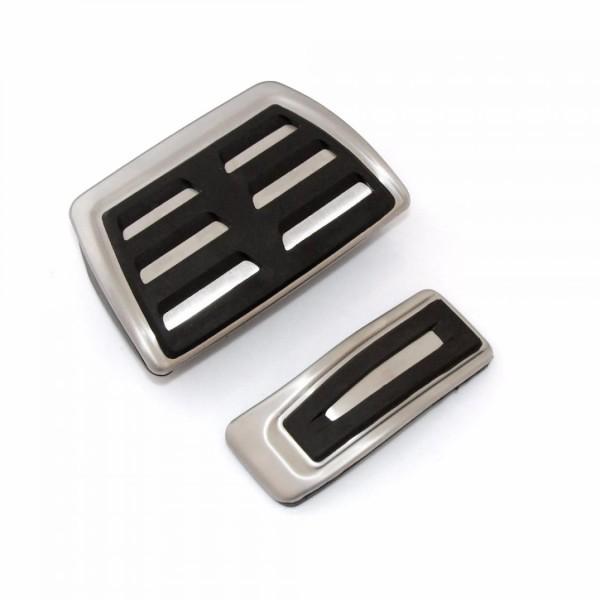 Pedale Pedalkappen aus Edelstahl Passend Für Porsche Macan S  Automatikgetriebe