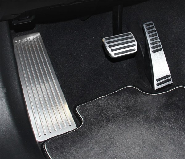 Pedale Pedalkappen aus Edelstahl Passend Für Volvo XC90 V90 S90  Automatik Getriebe