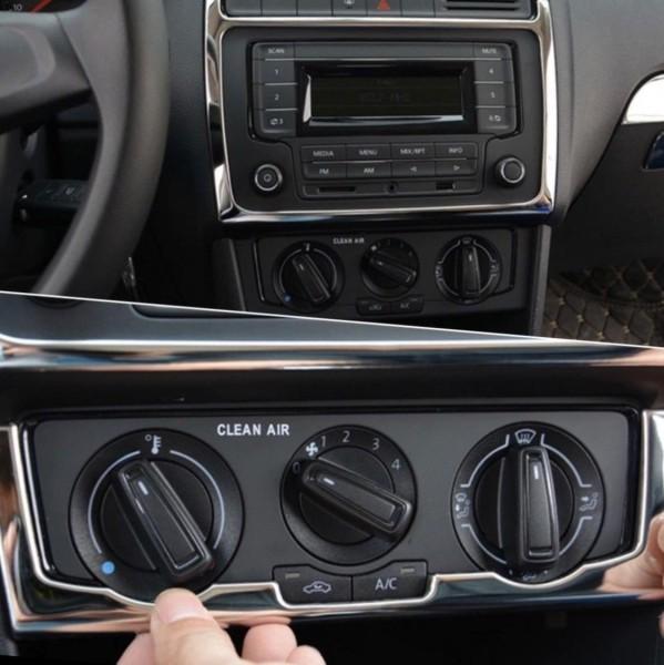 Klima Radio Blende Abdeckung Passend Für VW Polo 6R C6
