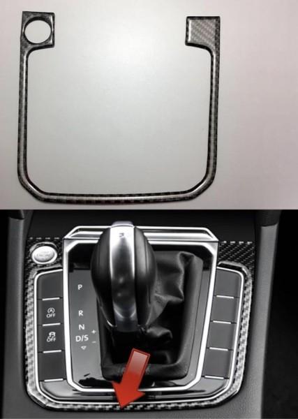 Schalttafel Blende Rahmen in Carbon Flex mit Start Stop Passend Für VW Golf 7 Tiguan 2 Passat B8