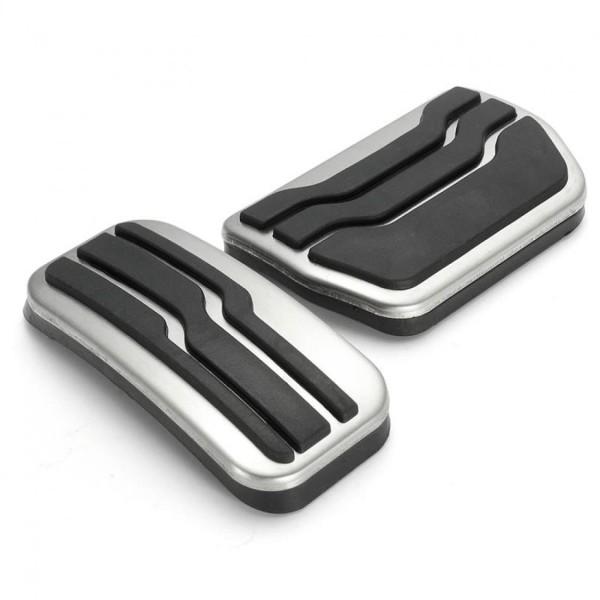 Pedale Pedalkappen aus Edelstahl Passend Für Ford EDGE Automatikgetriebe