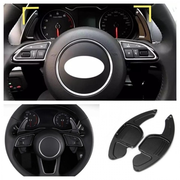 Schaltwippen Verlängerung Paddel Passend Für Audi alle Modelle Seat Leon 5F Cupra