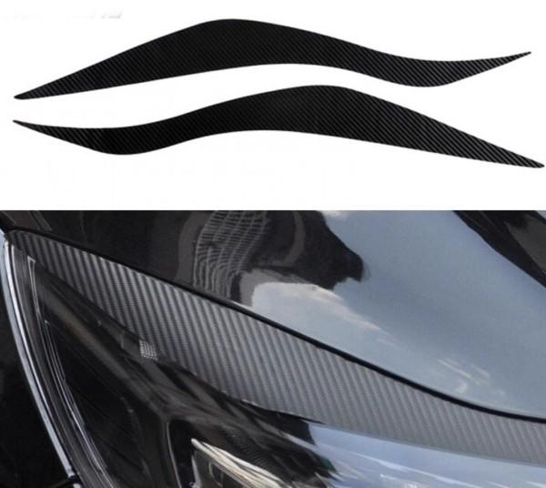 Carbon 3D Folie Böser Blick Passend Für Ford Focus 3 MK3 TDCI ST
