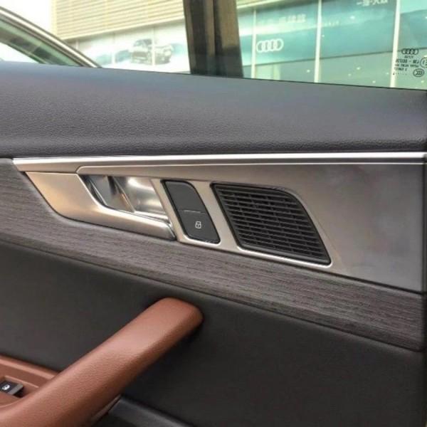 Türpappen Blende Edelstahl Matt Passend Für Audi A4 S4 RS4 B9
