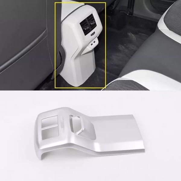 Luftdüsen Lüftung Hinten Konsole Mitte Rahmen Blende Abdeckung Passend Für VW T-Roc