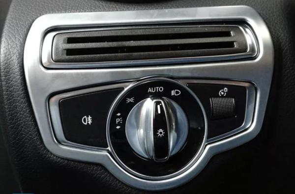 Lichtschalter Rahmen Blende Passend Für Mercedes Benz C Klasse W205 GLC X253