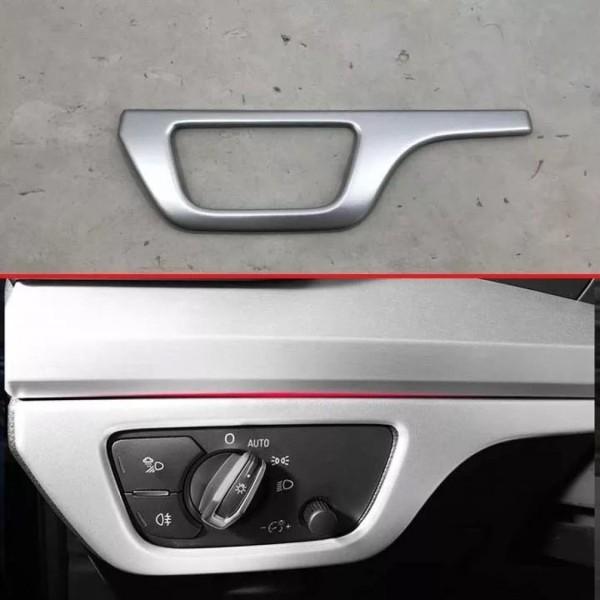 Lichtschalter Blende Abdeckung Rahmen Chrom Matt Optik Passend Für Audi Q5 SQ5 FY