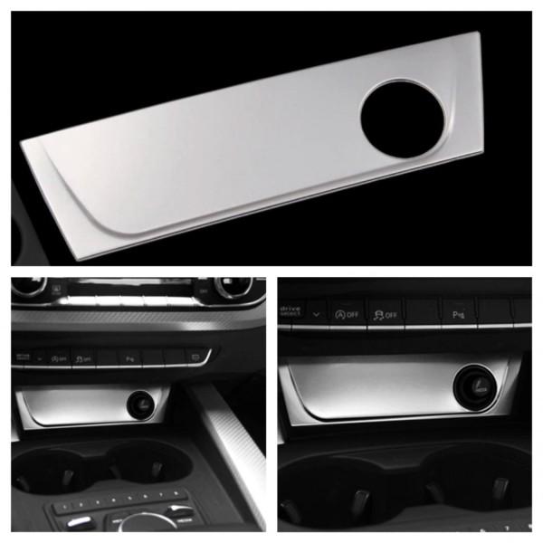 Edelstahl Mittelkonsole Rahmen Blende Abdeckung Passend Für Audi A4 B9 A5 F53 S4 RS4 S5 RS5