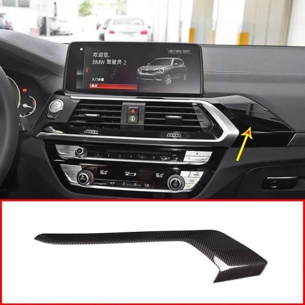 Armaturenbrett Mittelkonsole Rahmen Blende Carbon Optik Passend Für BMW X3 G01
