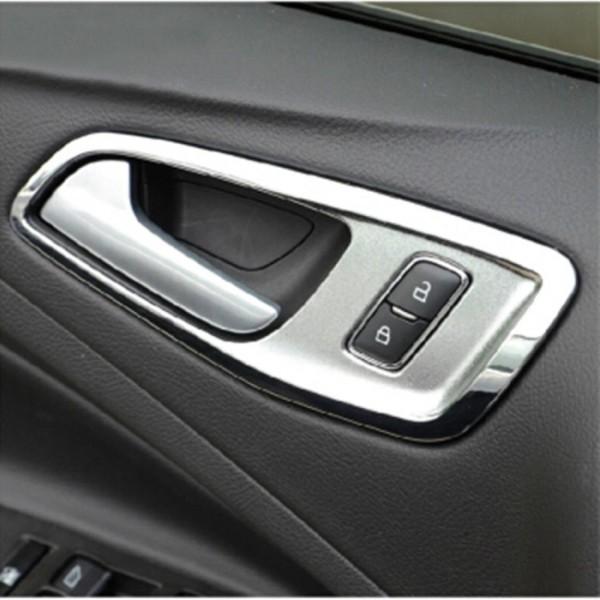 Handgriff Rahmen Abdeckung Ford Focus Passend Für Kuga ABS Chrom