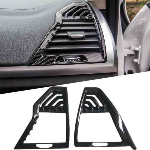 Luftdüsen Lüftung Rahmen Blende Carbon Optik Passend Für BMW X3 G01