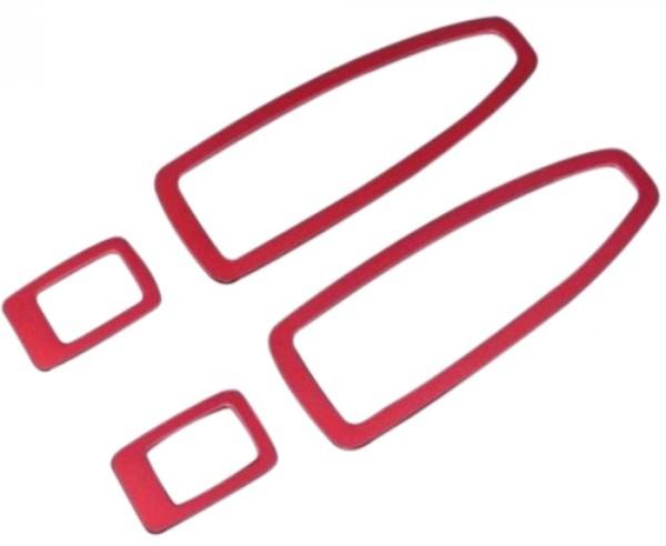 Fensterheber Rahmen Passend Für BMW 1er 3er 4er Rot