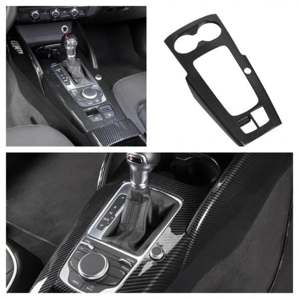 Mittelkonsole Schalttafel Carbon Optik ohne Start Stop Passend Für Audi A3 RS3 S3  V8